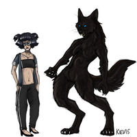 werewolf oc by kievroyal