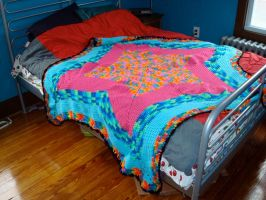Star Afghan by PinkSweaterVest
