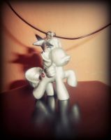 MLP unicorn necklace by SoulEevee99