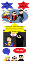 dc: super-sibling(?)-rivalry by Jaybird23