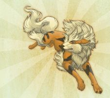 A is for Arcanine