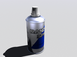 Spraying spray can by Forecaster71