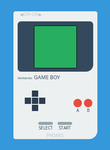 Nintendo Game Boy (CSS) by ExcaliburZero