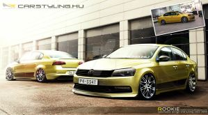 VW passat carstyling show 2012 by rookiejeno