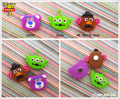 Toy Story 3: Magnet Set by jujubes