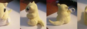 Commission - Sandshrew Charm by theunknownsoul