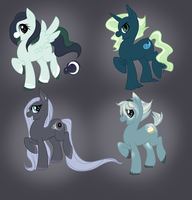 Ponies: Set 3 [SOLD] by BMAdopts