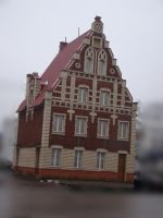 Gingerbread house 1 by Panopticon-Stock
