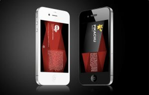 Pokedex Iphone Concept by arkineus