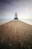 Wisconsin Point Lighthouse by tfavretto