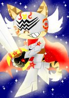 el tigre knight by Fire-Miracle