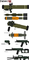 K-series AT-weapons and Limited production part 2 by IgorKutuzov
