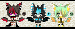 Kemonomimi Shotas - Bat-  AUCTION - CLOSED by Ayuki-Shura-Nyan