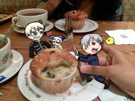 muffin n fork 1 PrussiaGerard by Chocoreaper