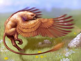 Gryphon by Mourlie