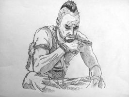 FarCry 3 - Vaas Montenegro by Pietro051