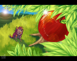 My apple tree by Kairi292