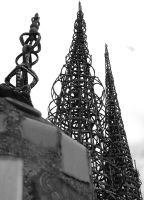 watts towers by ElusiveGnome
