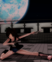 Hunting in the Night by MMDbeginner