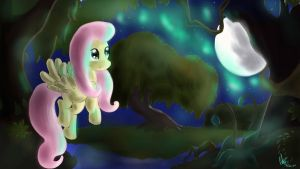 I'm Back , and fluttershy too :3 by JuBrony