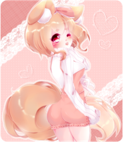 AT: Peachy-Nyan by Rinabell