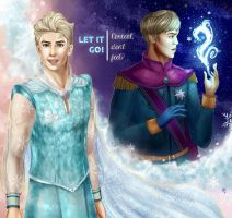 Elsan of Arendelle by cosmic-frequencies