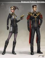 Star Trek Online Romulan Formal Concept Art by FBOMBheart