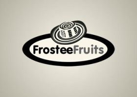 frostee fruits logo by blue2x