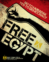 FREE EGYPT Poster by luvataciousskull
