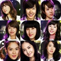 9 SNSD Icons. by Cali-Snowstar