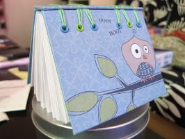 Owl Book - Secret Belgian Bind by GottaSneeze