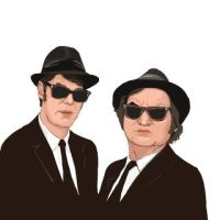 Blues Brothers by muravei