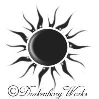 Sun tattoo by Drakenborg