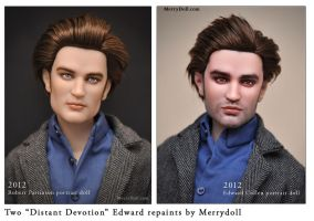 Edward and Robert repaints by mary-vassilieva