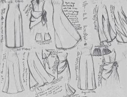 Skirts and cloth by FencerAbroad