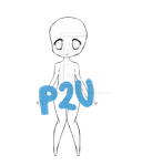 Dolly chibi base P2U 5 points only!! by AS-Adoptables