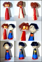 Cones: Superboy + Impulse by Lakonnia