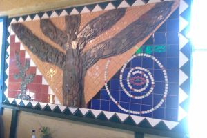 Mosaic Tree at Sals by DearestLeader