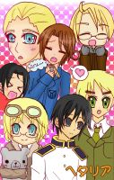 Axis Powers Hetalia by TokidokiAi