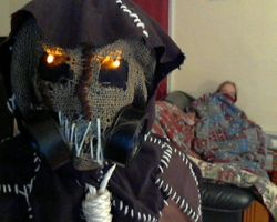 Scarecrow Mask by ComfortablyEccentric