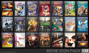 Movie Icon Pack 135 by FirstLine1