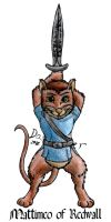 Mattimeo of Redwall by DCLeadboot