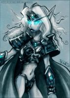 WoW: Death Knight by Jynxed-Art