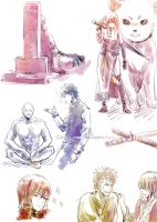 GINTAMA Movie 2 spoiler doodles 1... by Gin-Uzumaki