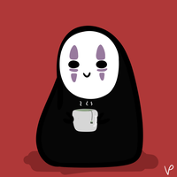 smol no face by vivienegg