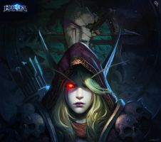 Heroes of the storm-Sylvanas Windrunner by liangxinxin