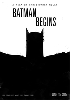 BATMAN BEGINS - Nolan Poster by edsonmuzada