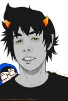 Homestuck - Karkat by Kumagorochan