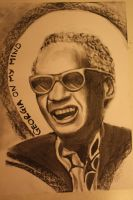 Ray Charles by CaptainBoss