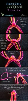 Macrame Goldfish Tutorial part 2 by Breach90